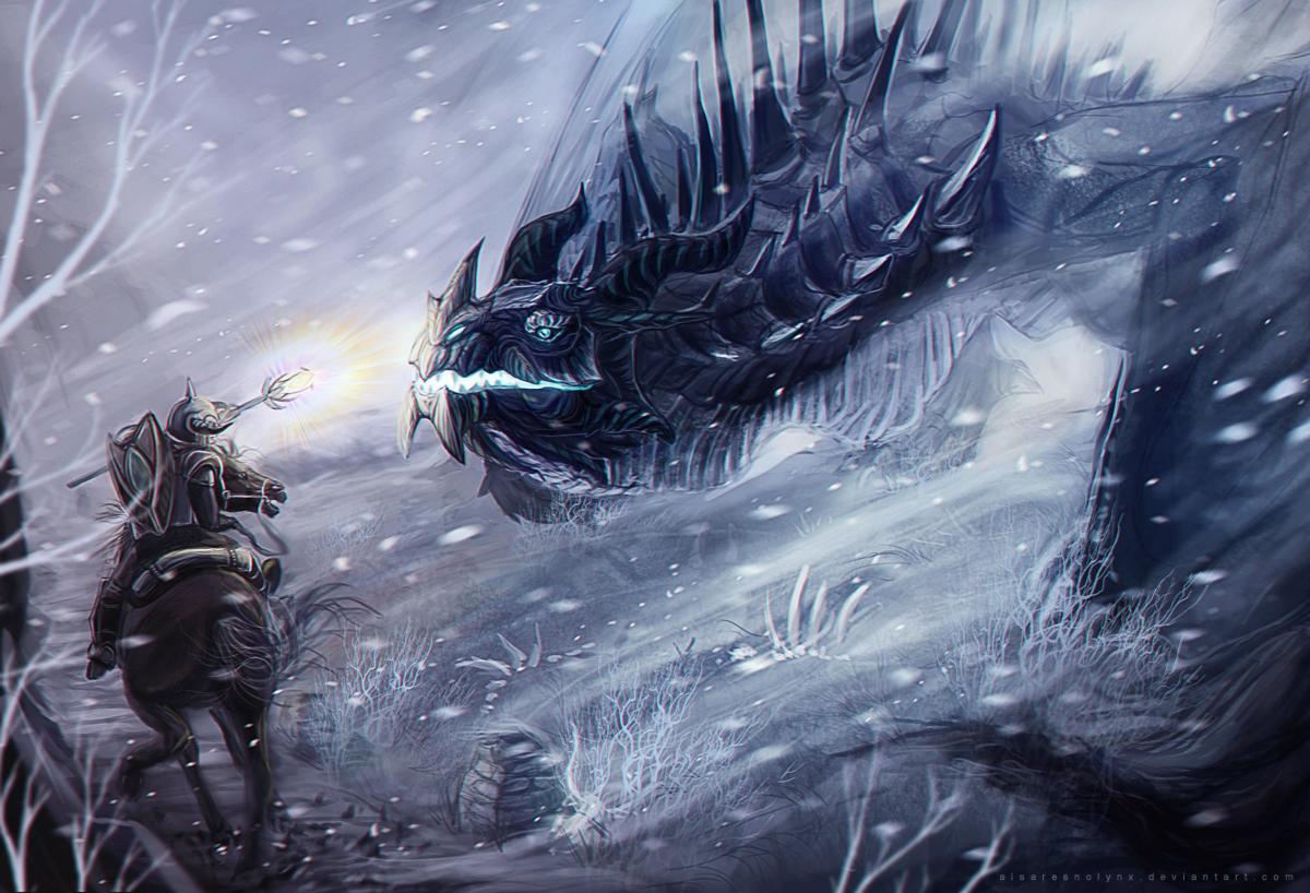 Frost Dragon: Frost Dragon By AlsaresLynx On DeviantArt