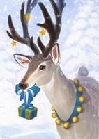 deer by AlsaresLynx