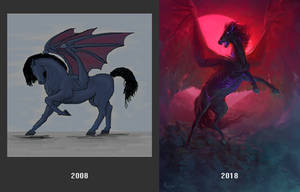 10 years of drawing by AlsaresLynx