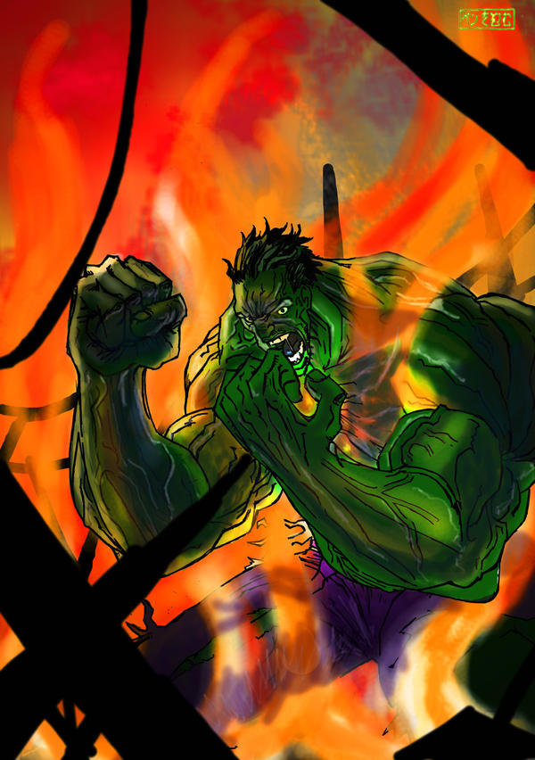 Hulk Darklight by Penners