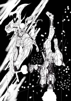 Iron Fist and Deadpool