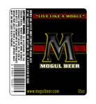 Mogul Beer bottle label