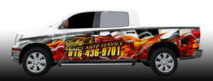 Brads Auto Wrap design