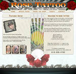 Tattoo website template
