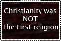 Sorry Christians by Foedus-Stamps