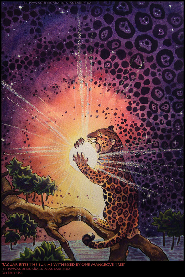 2012: Jaguar Bites The Sun... by kickingrabbit