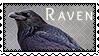 Stamp: Raven