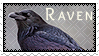 Stamp: Raven by WrendingRae