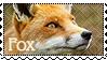 Stamp: Fox by WrendingRae