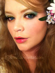 Spring / Rainbow Inspired Makeup by IbreeI