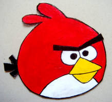 ANGRY RED BIRD Requested Magnet by RidiculousRandomHero