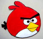 ANGRY RED BIRD Requested Magnet