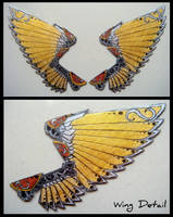 STEAMPUNK WINGS Requested Magnet by RidiculousRandomHero