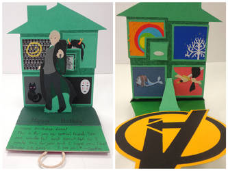 Draco and the Fandoms: Birthday Card by RidiculousRandomHero