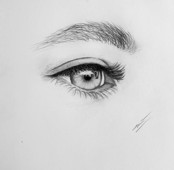 Charcoal and Pencil: Seek Forward by vt2000