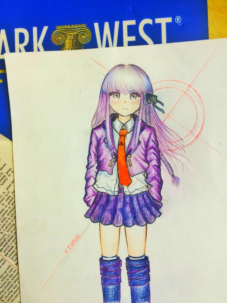 Recolor: Kirigiri Kyouko (very old art) by vt2000