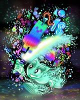 Epic Rainbow Llama Slayer by vt2000