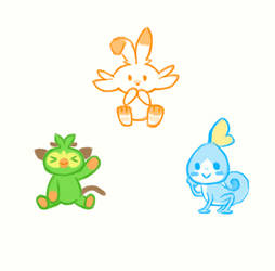 Pokemon Starter by vt2000