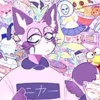 Emotionless Nya by Snowiitea