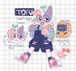 Tofu   fursona redesign