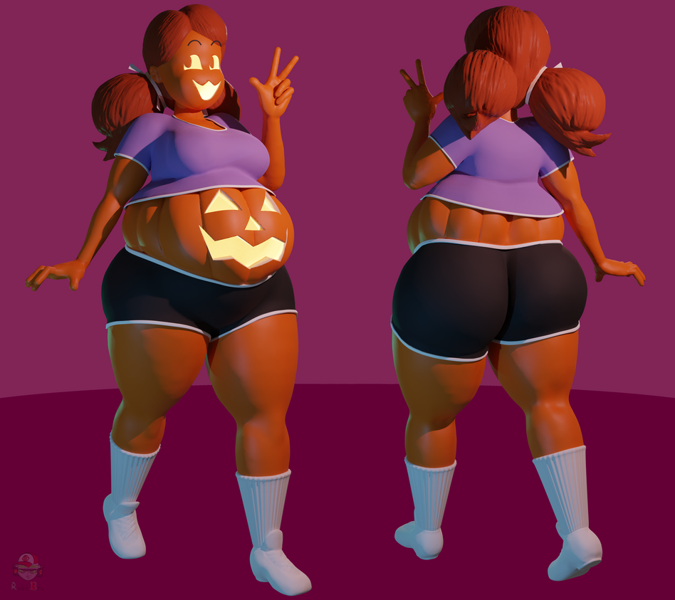 CM] August, RidiculousCake's Pumpkin Girl by RoboBorb on DeviantArt
