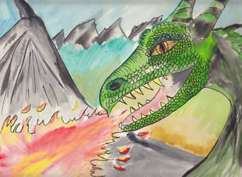 Green Dragon by MiaDevlin69