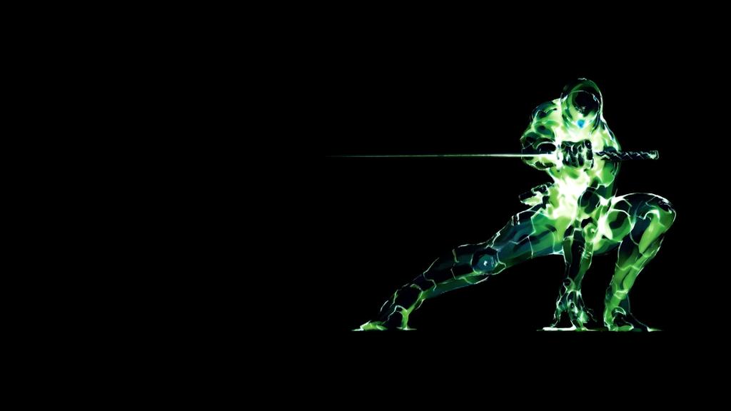 Gray Fox Cyborg Ninja Dark HD By MobiusZeroOne