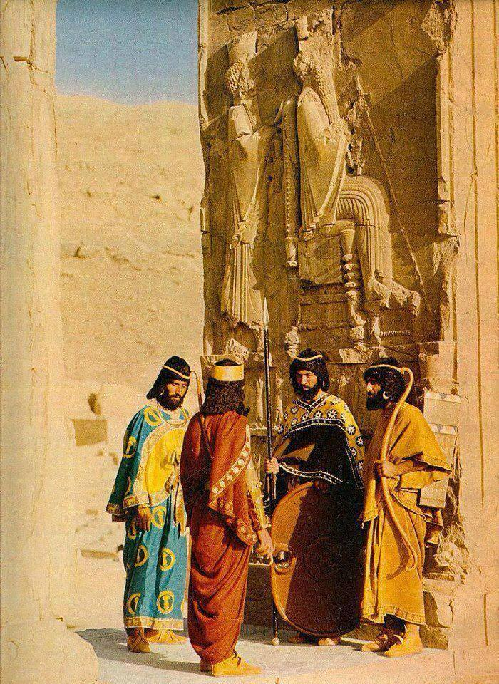 Ancient Persian Guard by MedievalJunkie