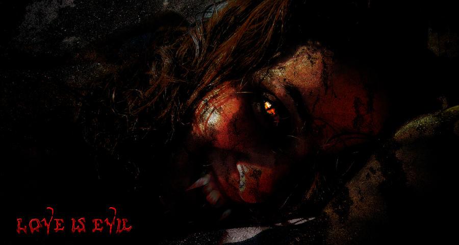 Love Is Evil By Anutu On Deviantart