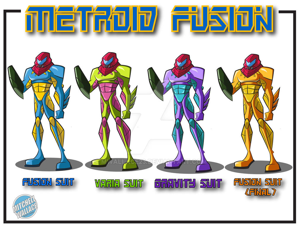 Metroid Fusion Variants By Mwallace23 On DeviantArt