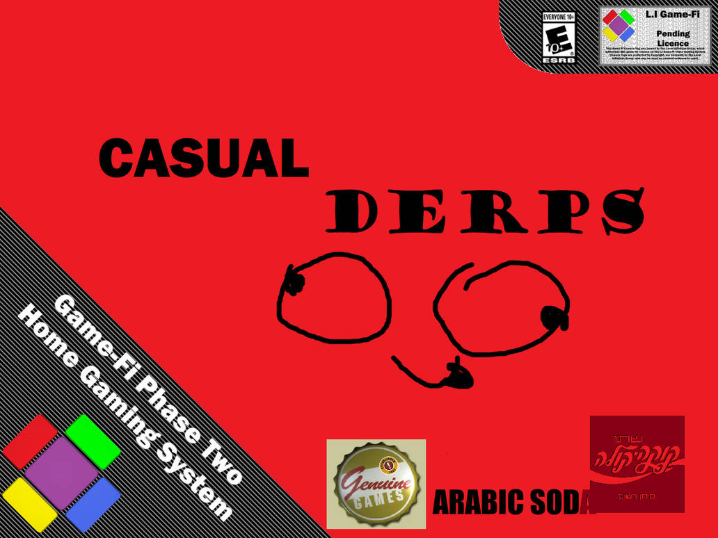 Casual Derps Game-Fi Phase Two Game Cover