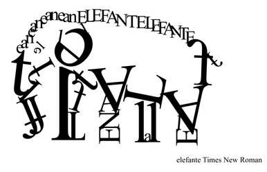 elefante by Latefanya