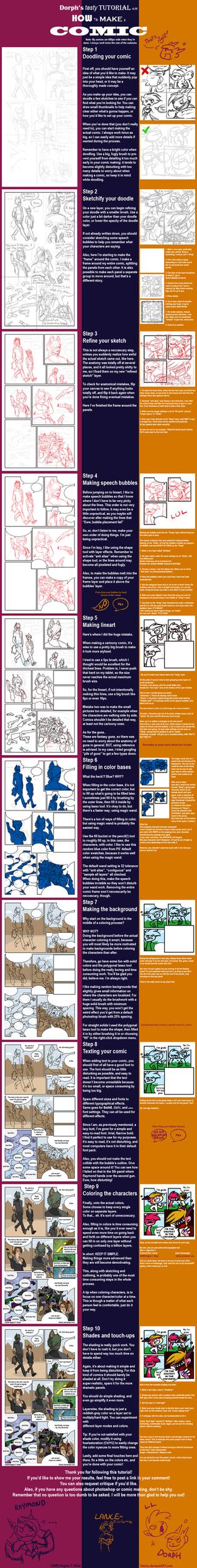 Comic tutorial by Tatchu