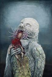Slimy Creature by emilia-veiland