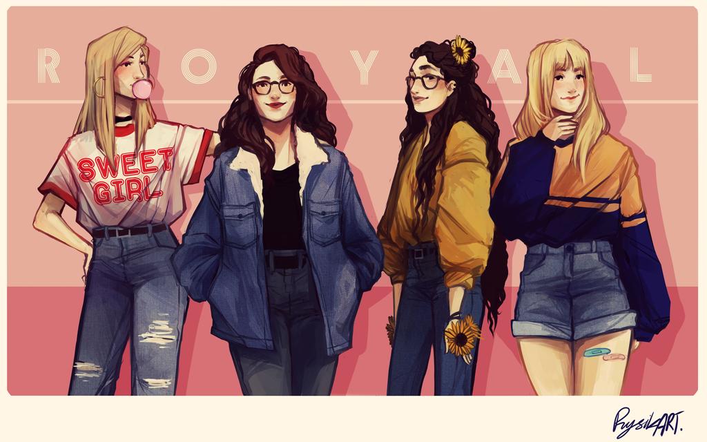 Royal Girls by RysikART