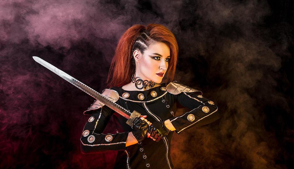Warrior Woman by Afemera