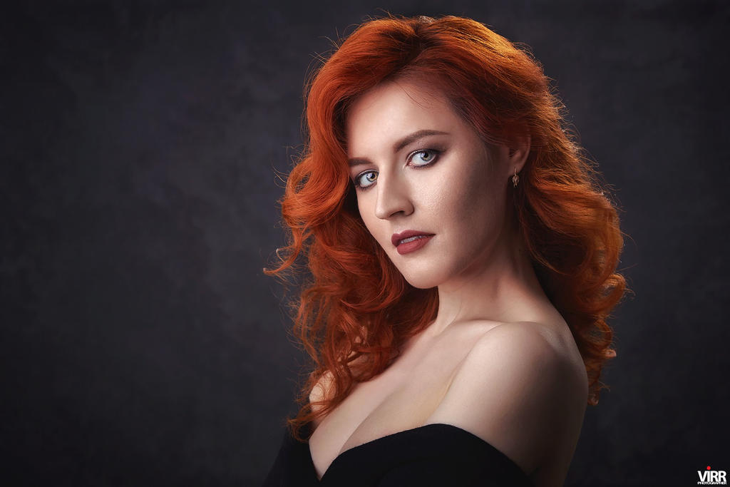 Red Hair by Afemera