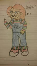 Chucky Fan Art by thevideogameguy95