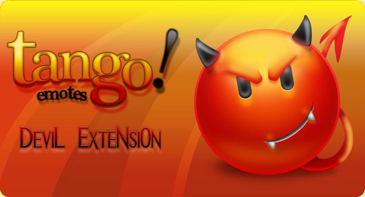 Tango Emotes - Devil Extension by Furyo-kun