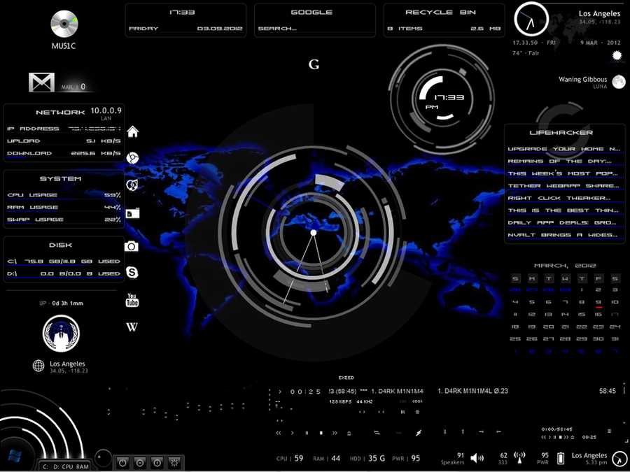 World map rainmeter desktop by omni23 on deviantart world map rainmeter desktop by omni23 gumiabroncs Image collections