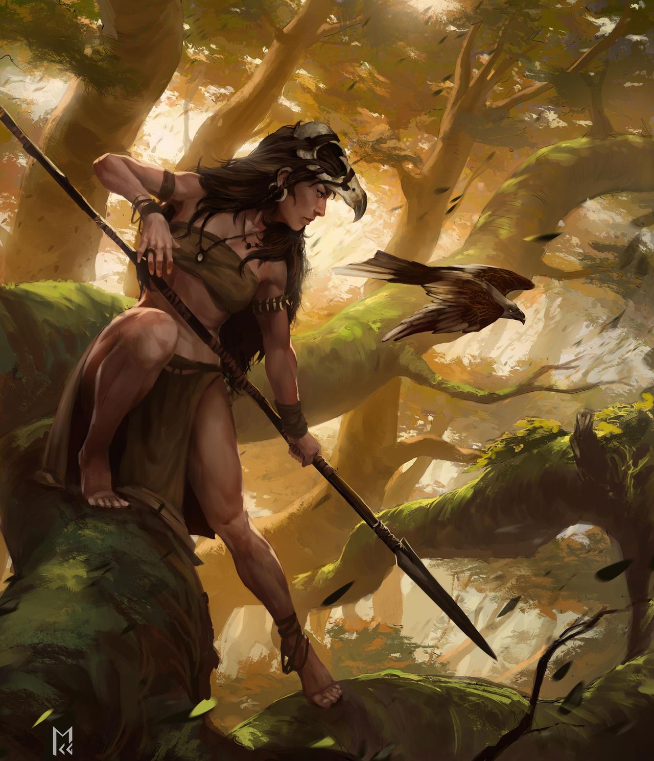 Huntress by Castaguer93