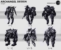 Archangel design by WarrGon