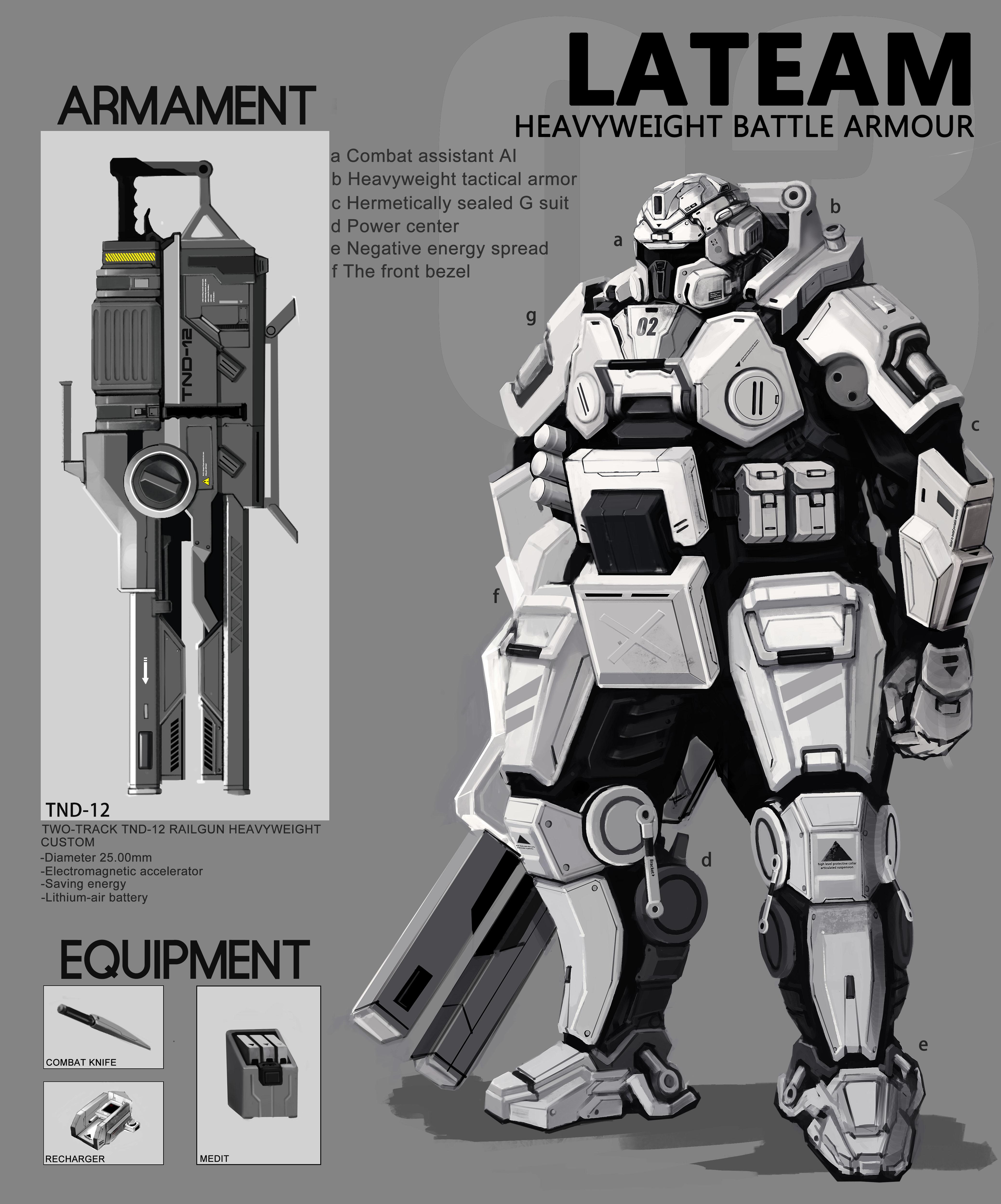 Lat Battle Armour 03292013 by WarrGon