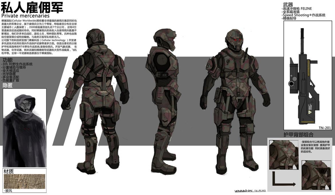 Private mercenaries-06192013 by WarrGon