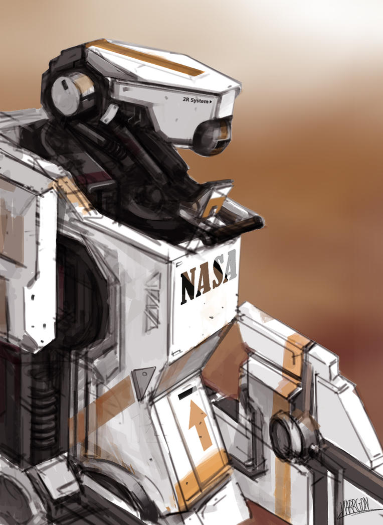 NASA ROBOT 07122013(2) by WarrGon