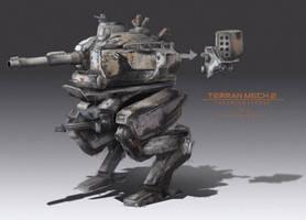 Terran mechs 02 by WarrGon