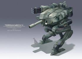 Terran mechs 004 by WarrGon