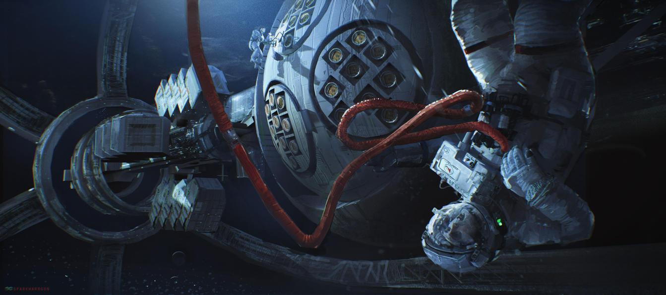 SPACE DEAD by WarrGon