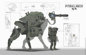 PITBULLMECH ORI by WarrGon