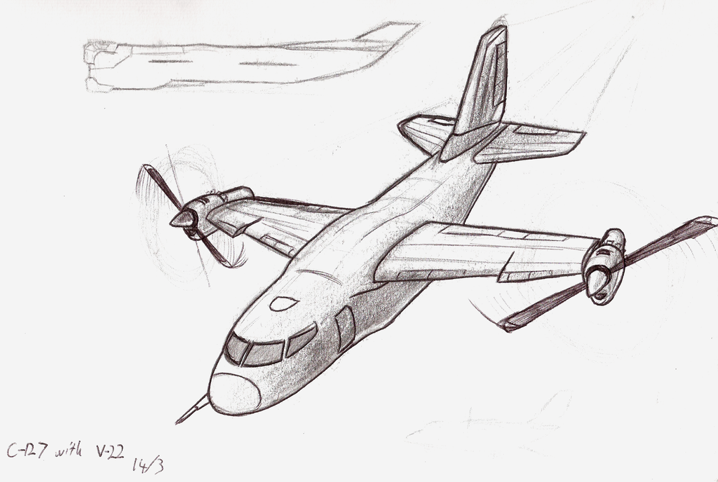 How To Draw Cargo Planes